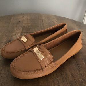 Coach Camel Loafers 7